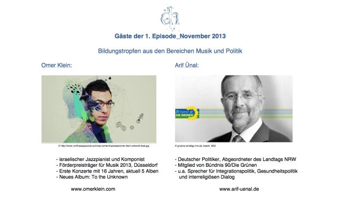 Omer Klein und Arif Ünal