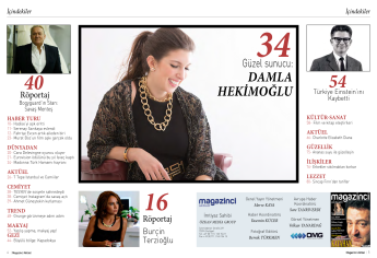 Damla Hekimoglu Magazinci Magazine 2