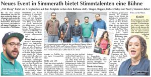 Monschauer Wochenspiegel-Damla Hekimoglu_VielklangSimmerath_Moderatorin